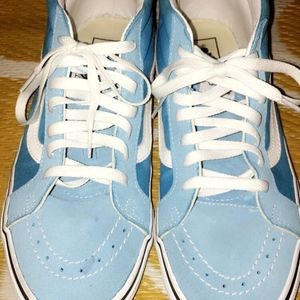 Vans Shoes - Vans Light Blue Mens Size 10.5